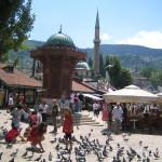 Голубиная площадь, Сараево
