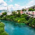 Мостар и река Неретва (Сараево)