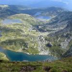 Семь озер в горах Рила