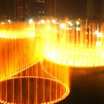 Музыкальный фонтан Дубай