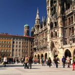 Площадь Мариенплатц в Мюнхене
