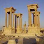 Архитектурный комплекс Тетрапилон (Пальмира)