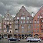 Ганзейская набережная Брюгген в Бергене