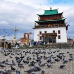Действующий буддийский монастырь Гандан в Улан-Удэ