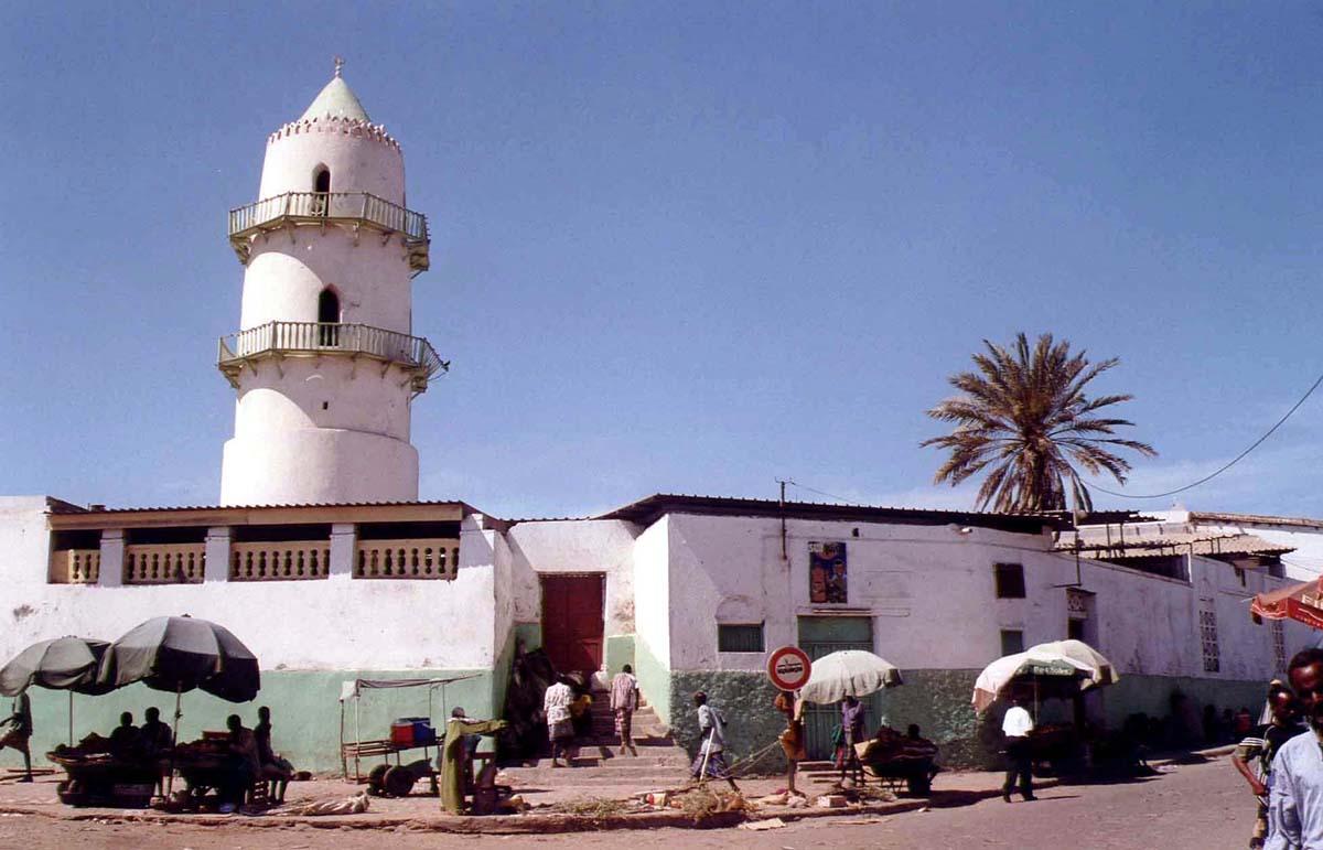 Джибути, Мечеть Hamoudi в г. Джибуди