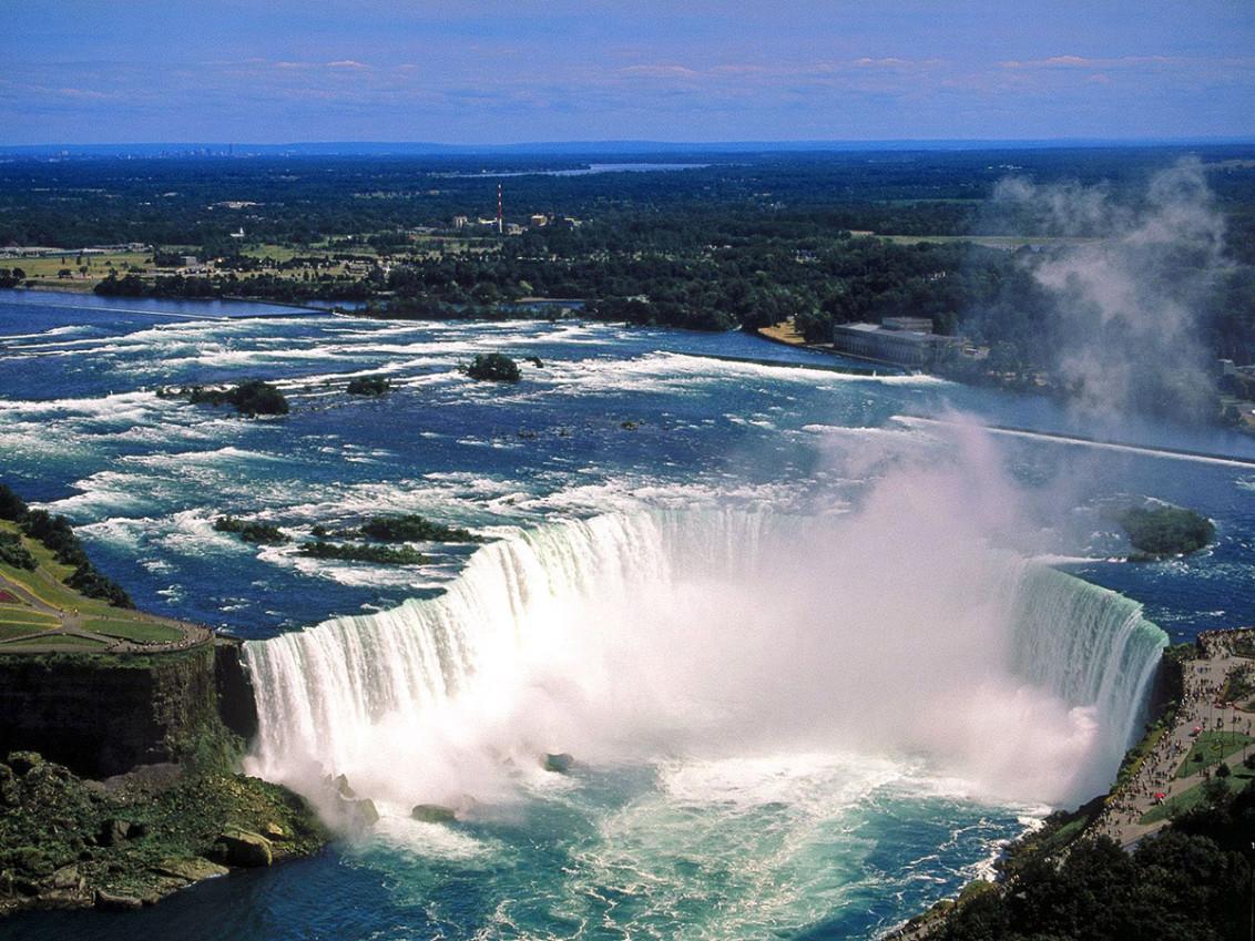 Ниагарский водопад , Канада