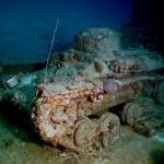 Кладбище кораблей в лагуне Трук