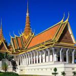 Королевский дворец в г. Пномпень