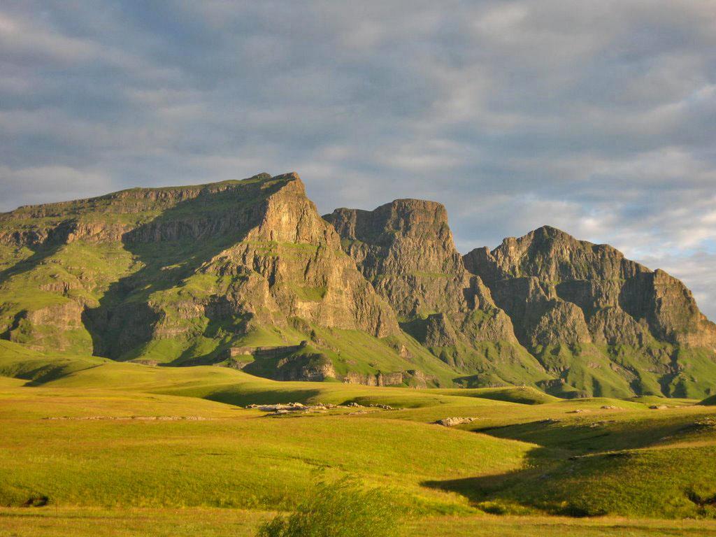 Драконовы горы в Лесото