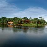 Остров на озере Никарагуа