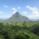 Священная гора Mt. Rotui (о-в Муреа)