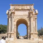 Триумфальная арка Септимия Севера (Лептис-Магна)