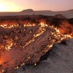 Врата ада — горящий кратер Дарвазы