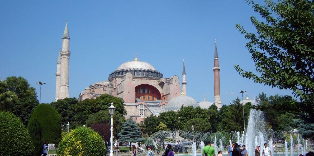 Турция (Музей Айя-Софья в Стамбуле)