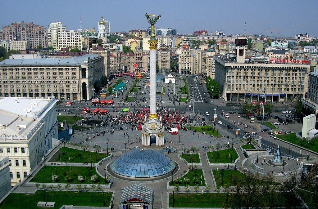 Крещатик в Киеве (Украина)