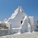 Церковь Панагии Парапортиани Миконос