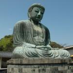 Бронзовая статуя Будды в Камакуре
