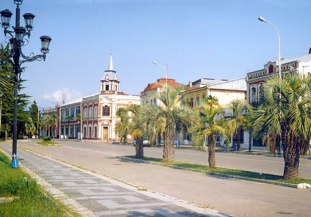 Курорт Гудаута (Абхазия)