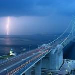 Мост Акаси-Кайкё в Кобе