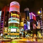 Район Гинза в Токио