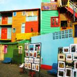 Улица Каминито в районе Ла-Бока (Буэнос-Айрес)