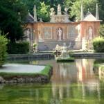 Дворец Хельбрунн в Зальцбурге