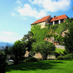 Замок Шлоссберг в Граце