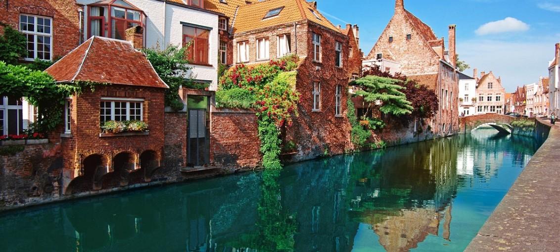 Брюгге в Бельгии