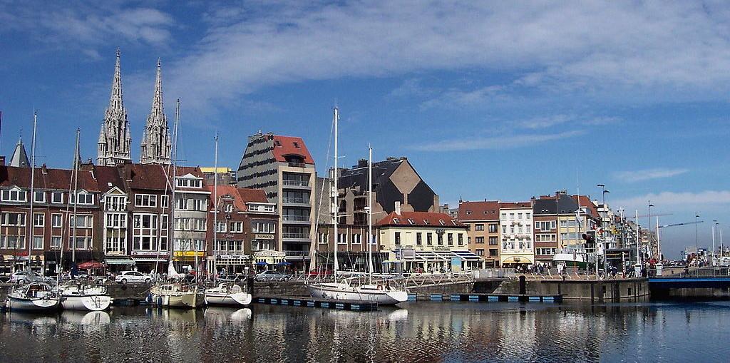 Курорт Остенде в Бельгии
